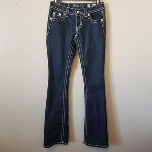 Miss Me Bootcut Jeans JP5633B3 size 26